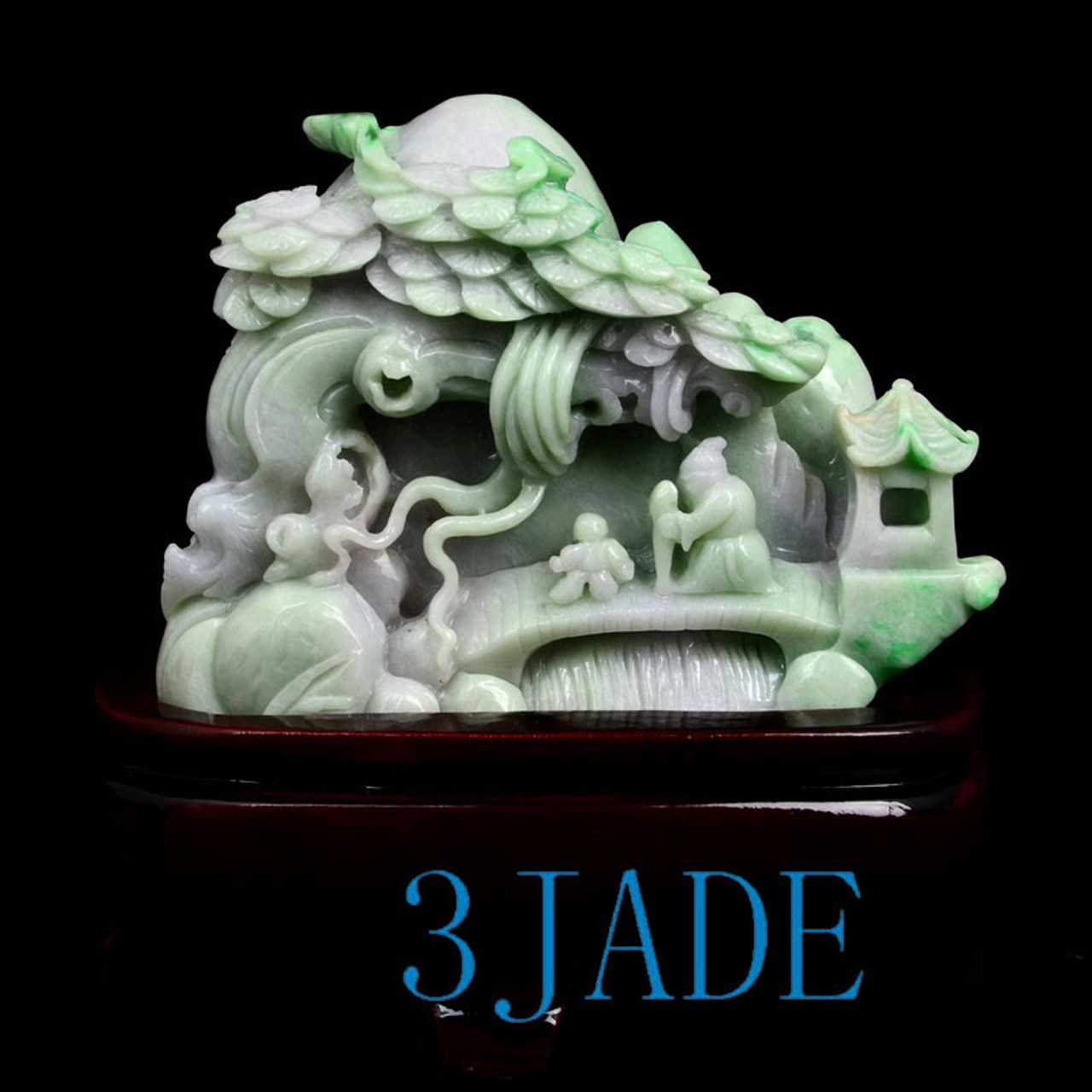 Jade Carving Village Scenery
