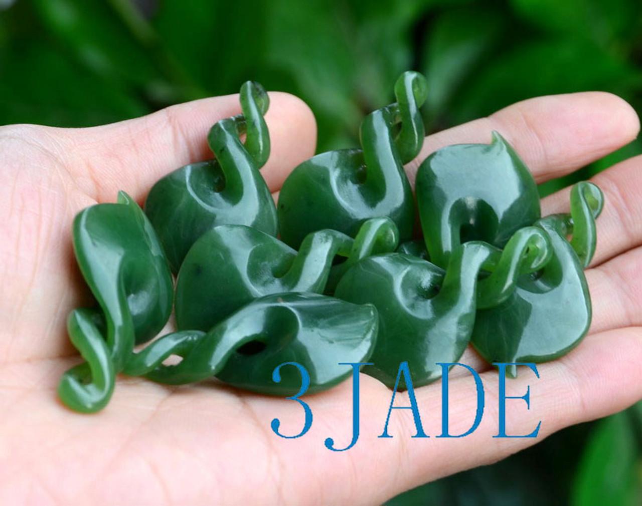 Maori Jade Double Twist Necklace
