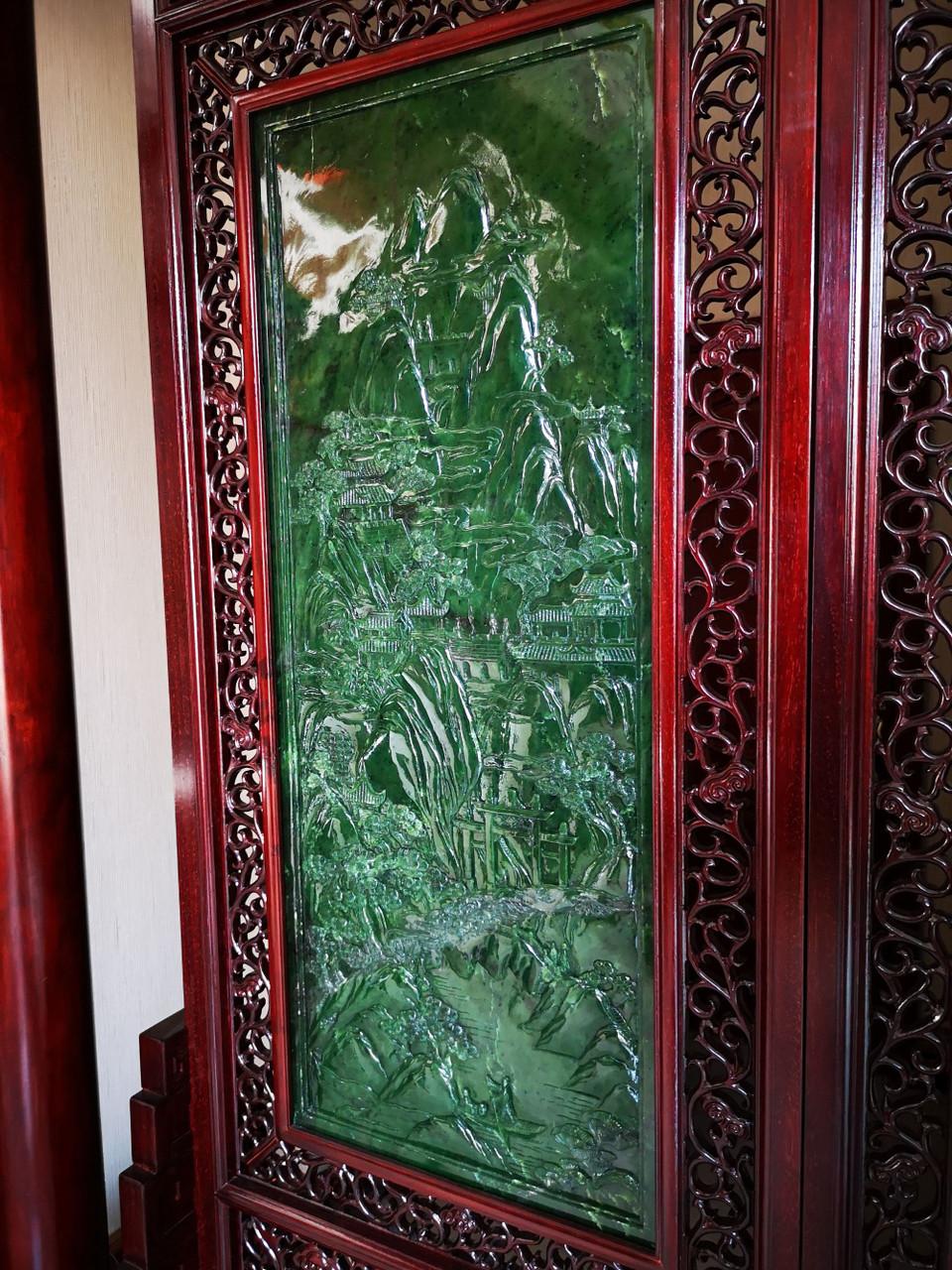 Jade Mount Heng 玉雕南岳衡山