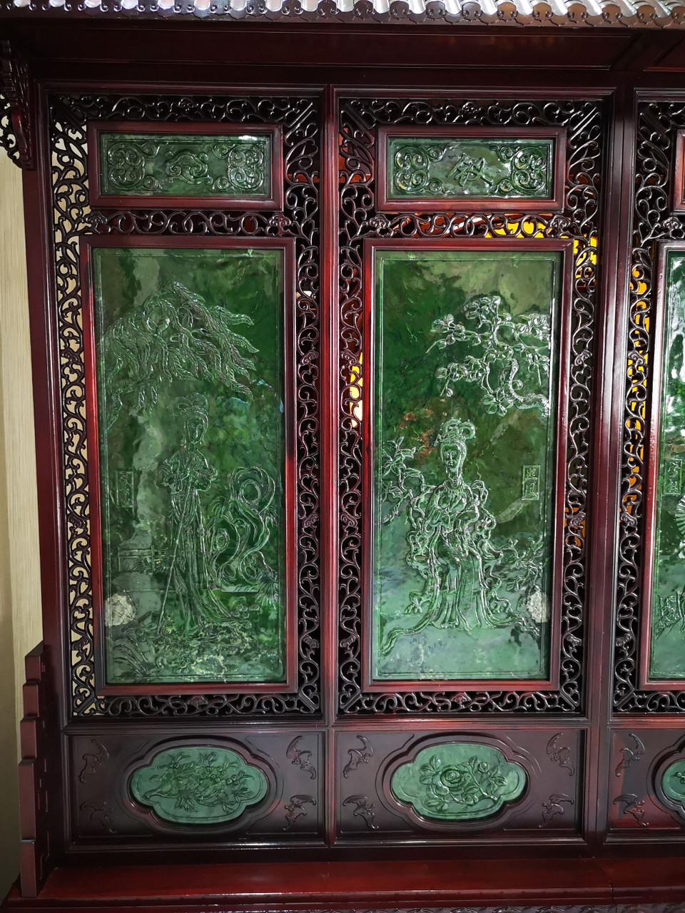 large jade art
