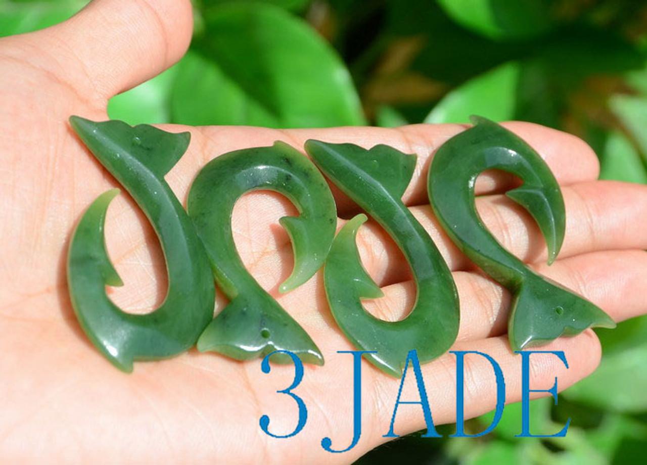 Jade Whale Tail Hei Matau