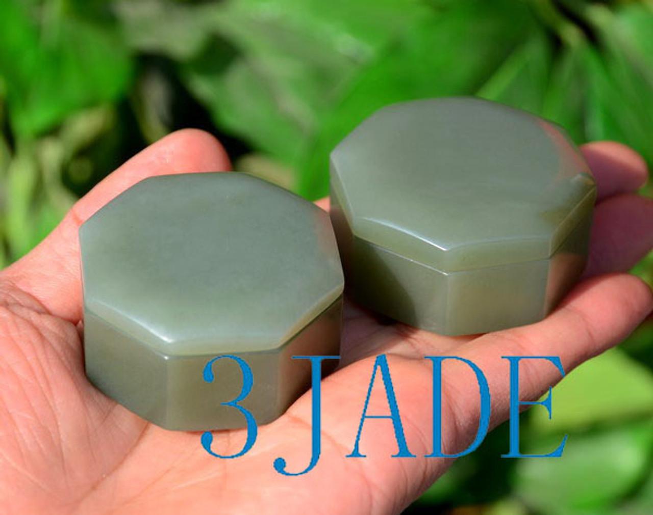 Hand Carved Jade Case