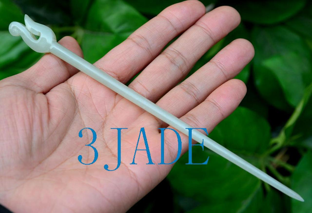 NZ Maori Design Jade Hairpin