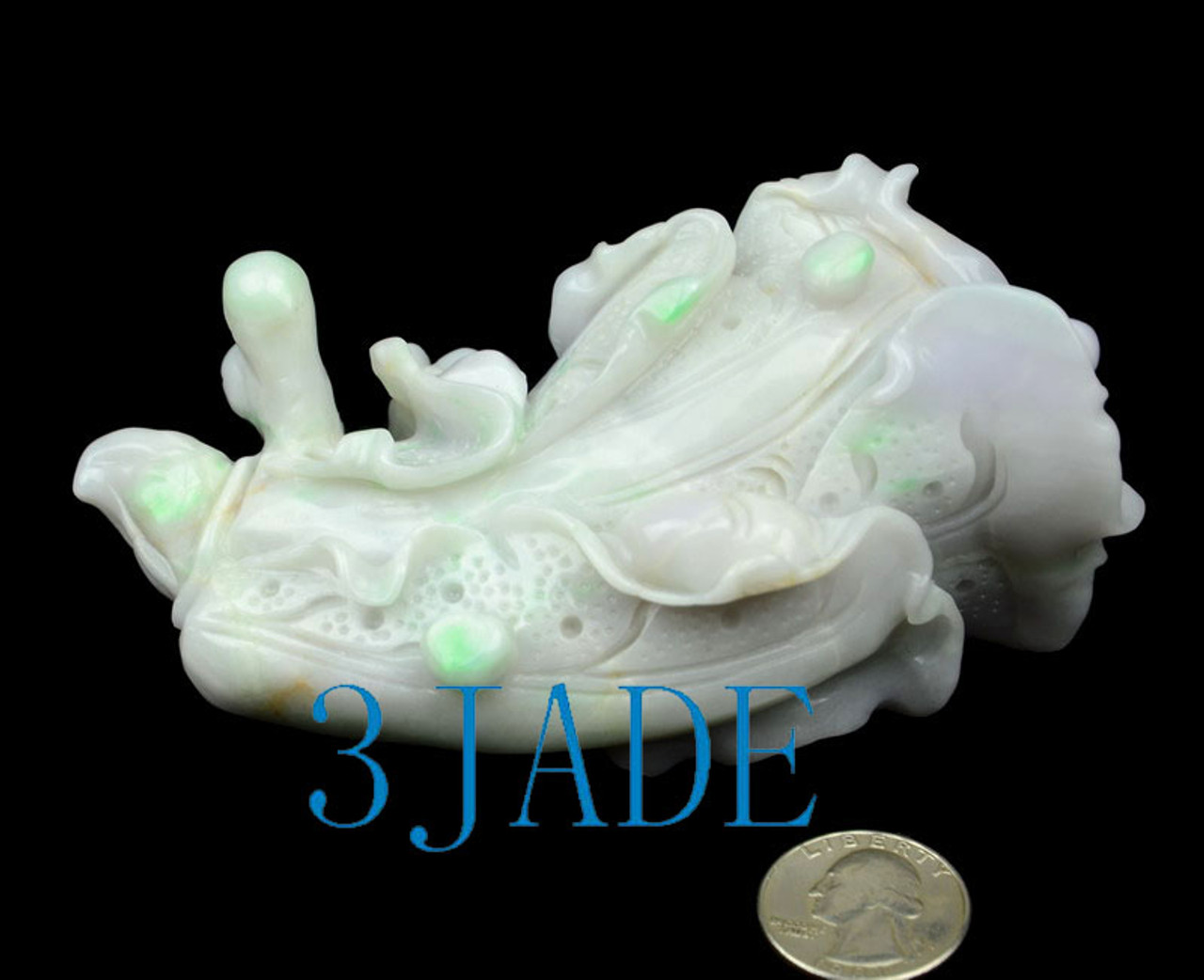 Feng Shui Jade Baicai