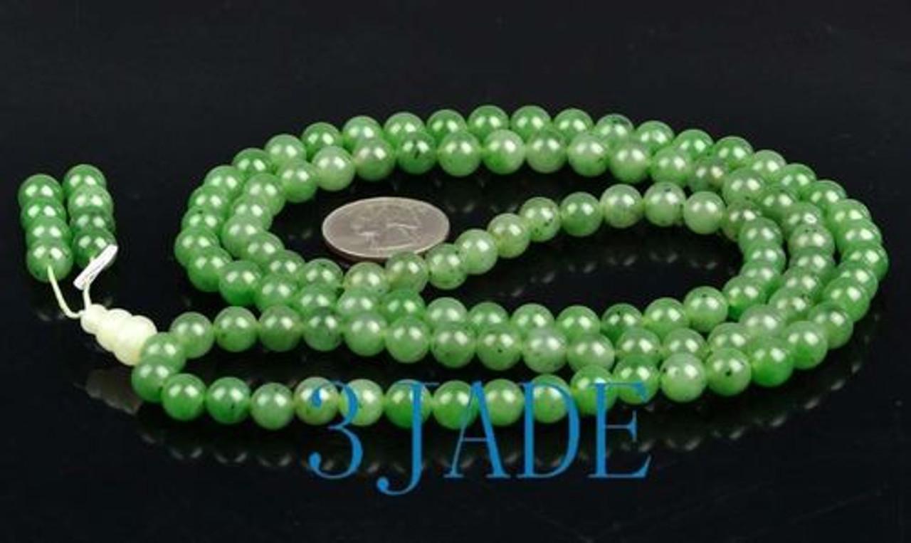Natural nephrite jade