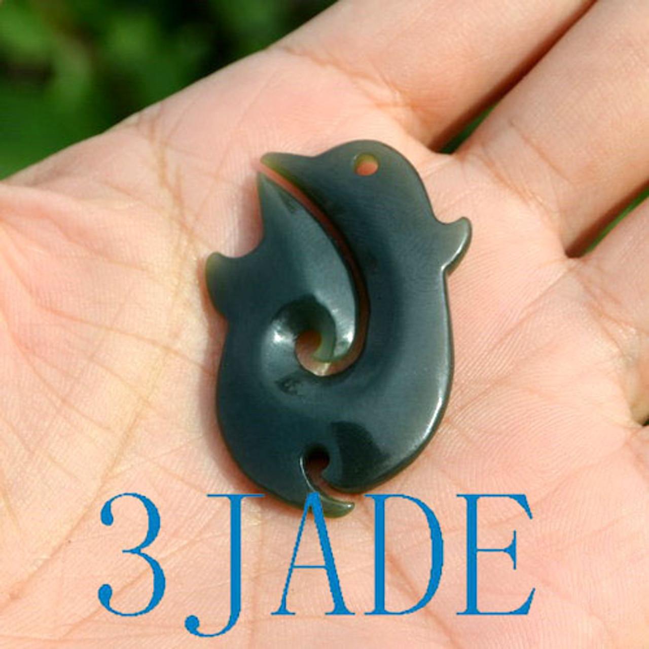 jade Hei Matau necklace
