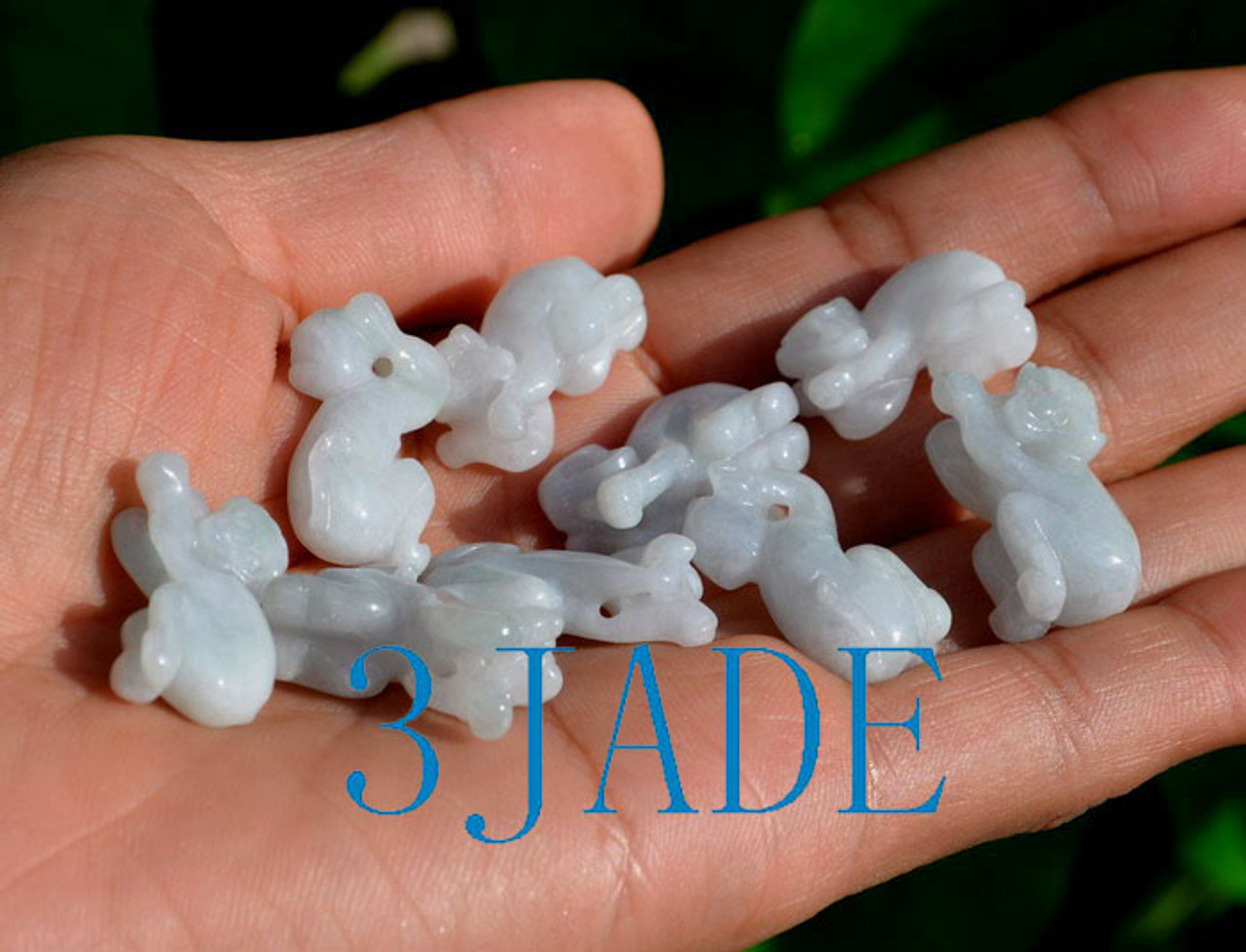 jade money figurine
