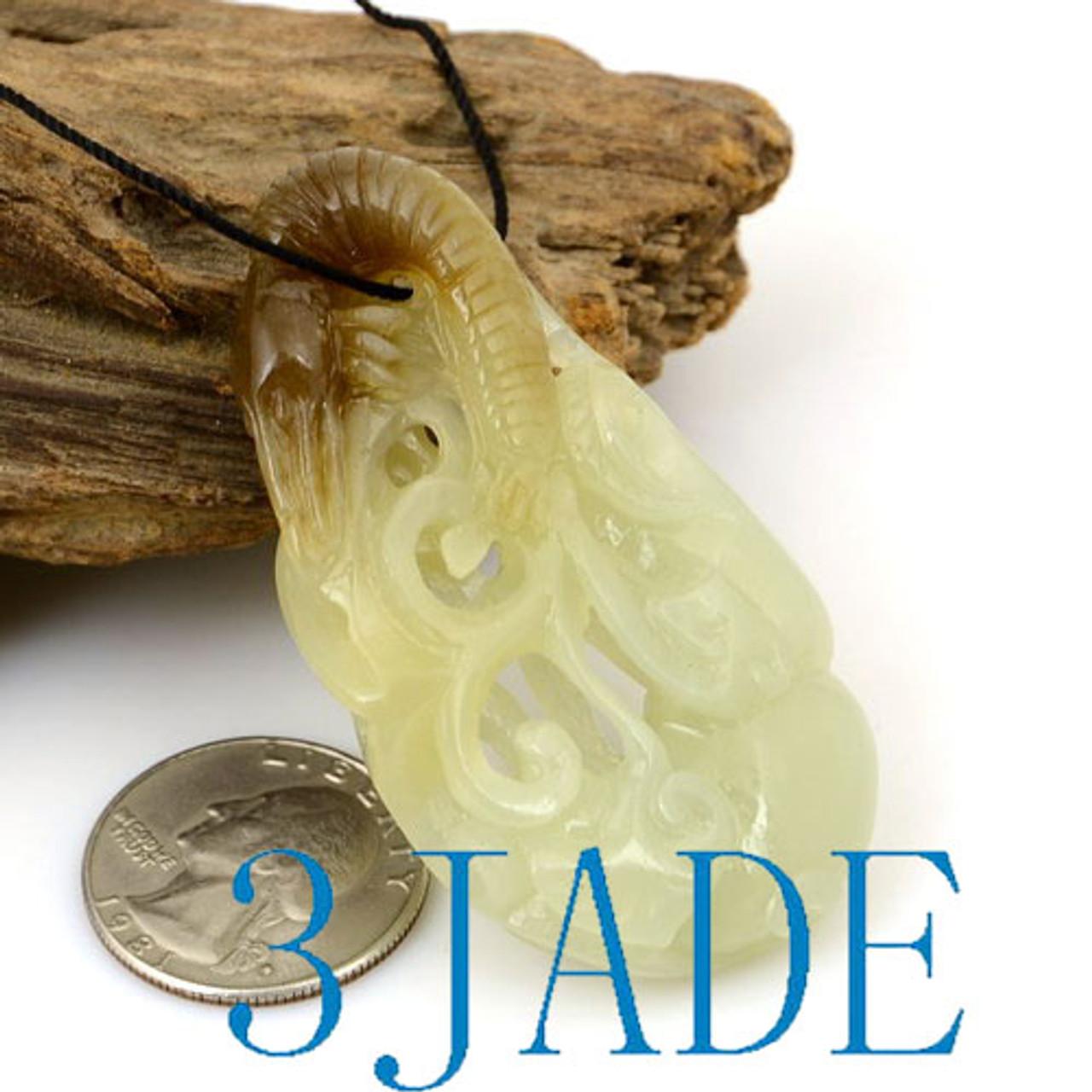 white jade shrimp