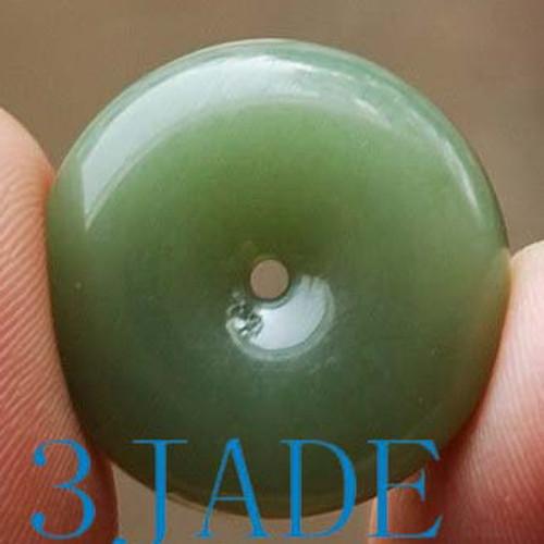 Nephrite Jade Donut