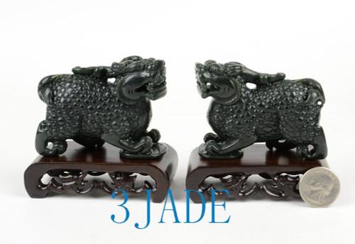 Jade Pixiu Figure