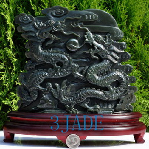 Playing Dragons Statue