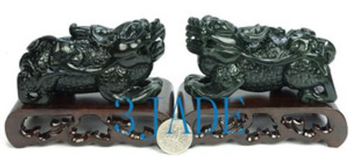 jade Pixiu Statues