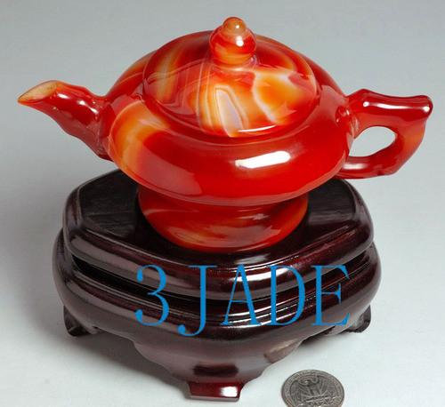 gemstone tea pot