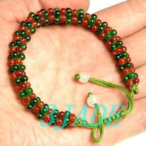 Jadite Beads Bracelet