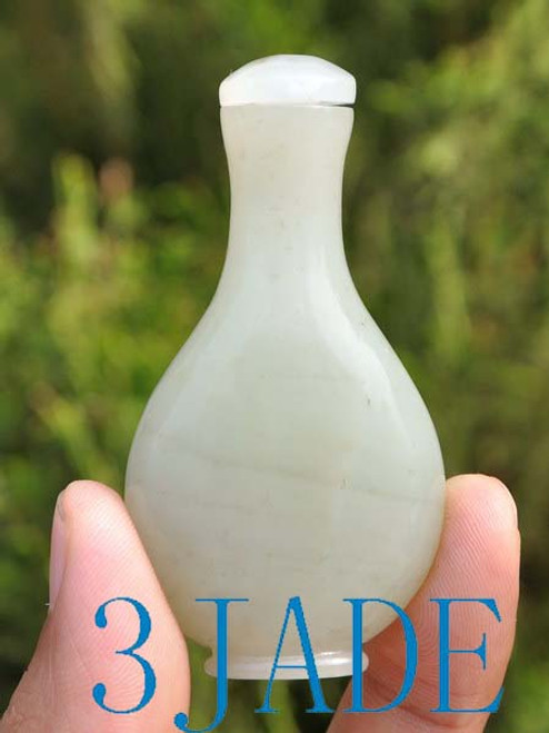 Hetian Jade Snuff Bottle