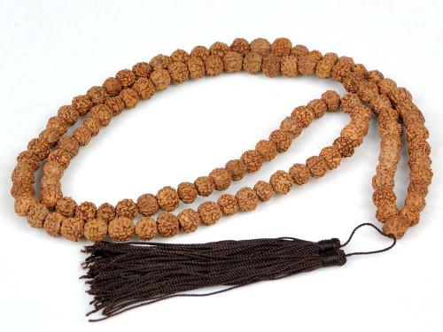 Rudraksha Bodhi Seed Prayer Beads Mala