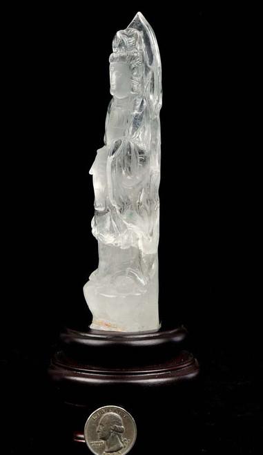quartz Kwan Yin