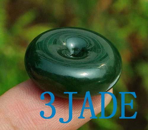 jade gemstone donut