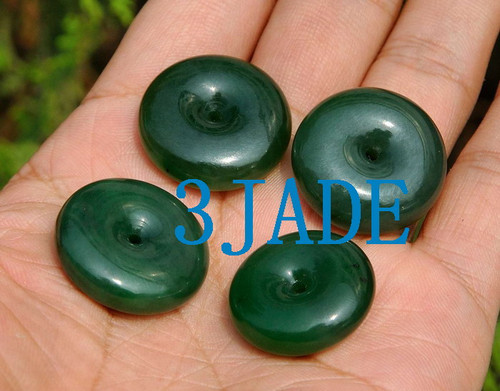 Nephrite Jade beads Necklaces