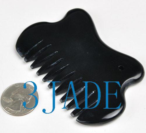 Natural Sinbi Bian-Stone Comb - Bianstone Therapy -Z012312