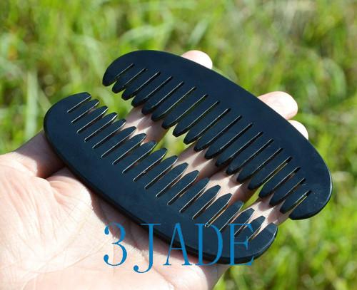 jade hair comb