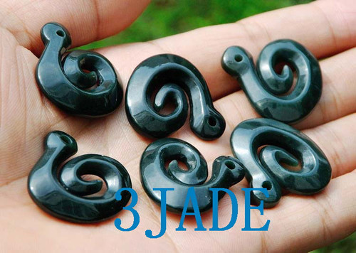jade Koru necklace