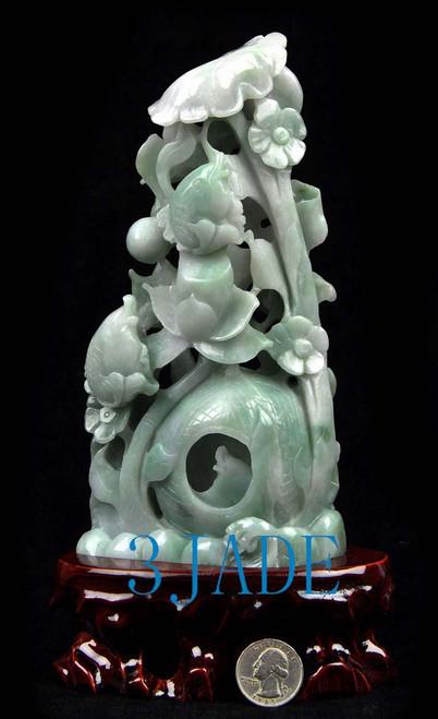 jade Koi fish carving