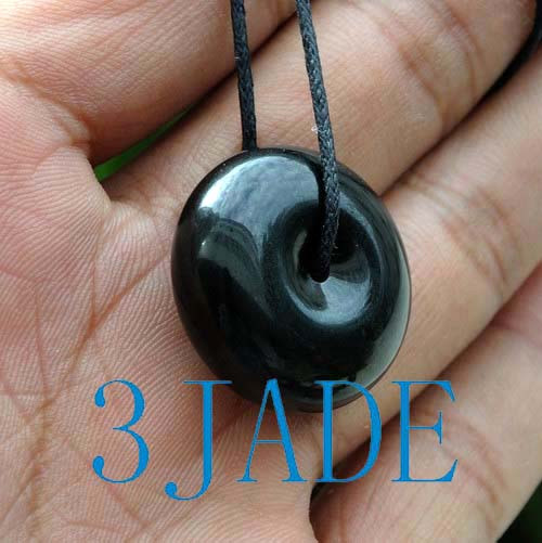 black jade necklace