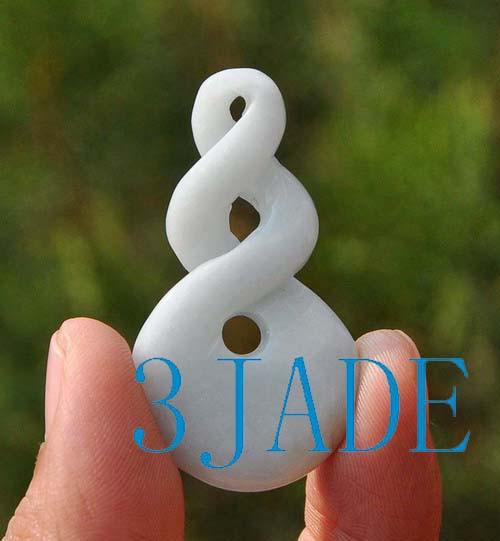 jadeite jade double twist