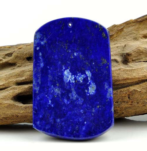 Natural Lapis Lazuli Gemstone Bird / Phoenix Pendant / Carving / Art -GZ00114