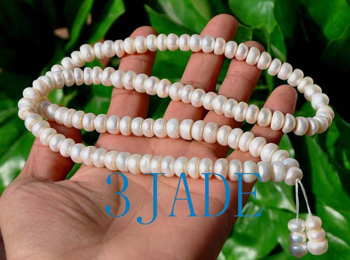 Pearl Mantra Meditation Beads