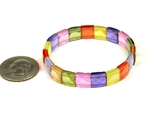Rainbow Zircon Bracelet