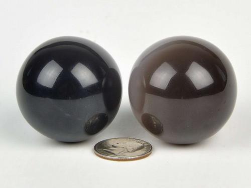 Chalcedony Spheres