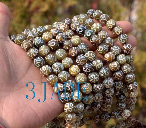 Carved Prayer Beads