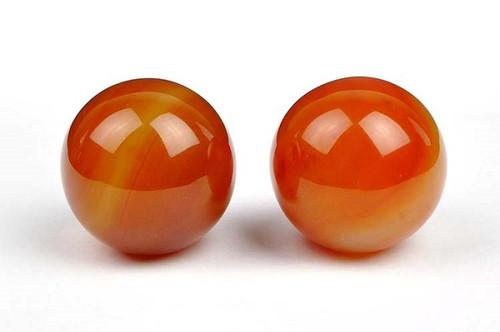 carnelian balls