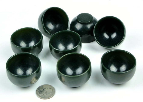 Jade stone Shot Glasses