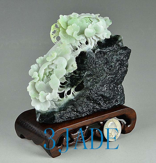 Dushan jade flower