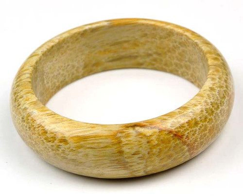 fossil coral bangle