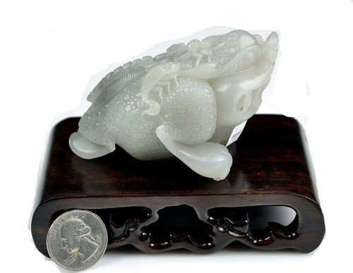 Hetian jade carving