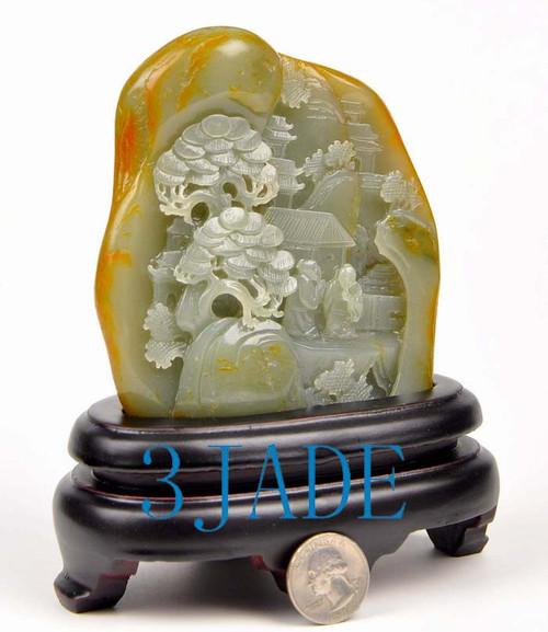Nephrite Jade carving