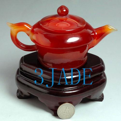 Carnelian Teapot