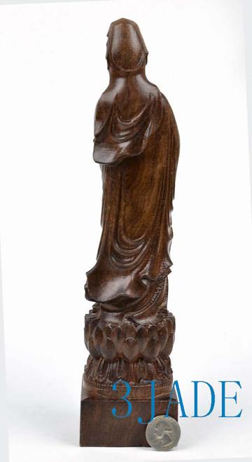 Wooden kwan-yin