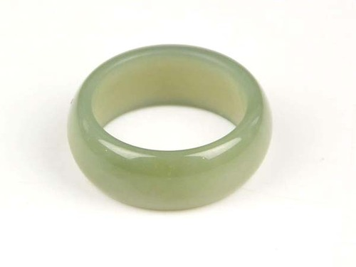 Hetian nephrite jade ring