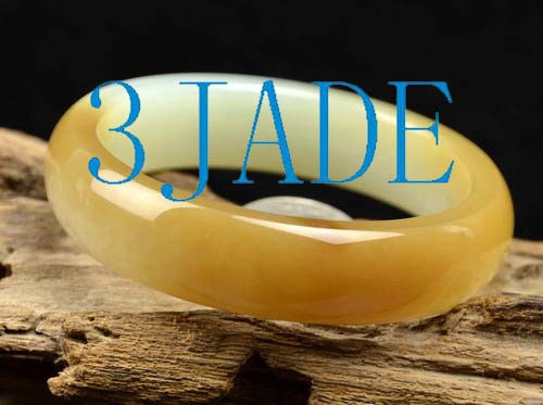 sugar brown jade bangle