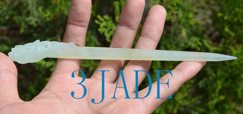 jade hairpin