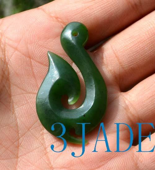 jade fish hook
