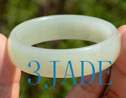 56mm Hetian jade bangle
