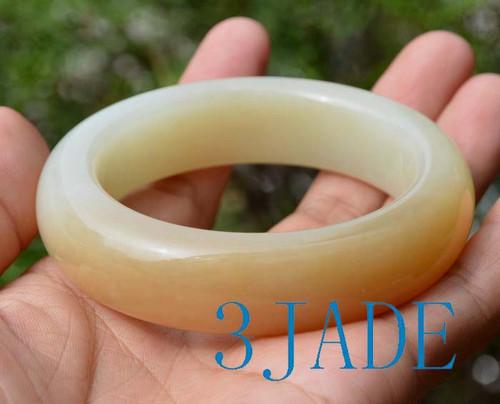 58mm Hetian jade bangle