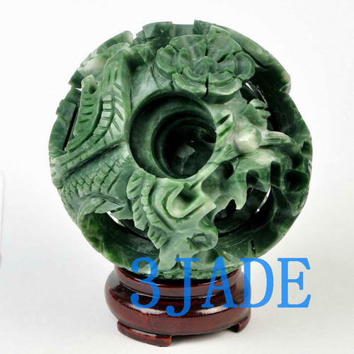 jade puzzle ball