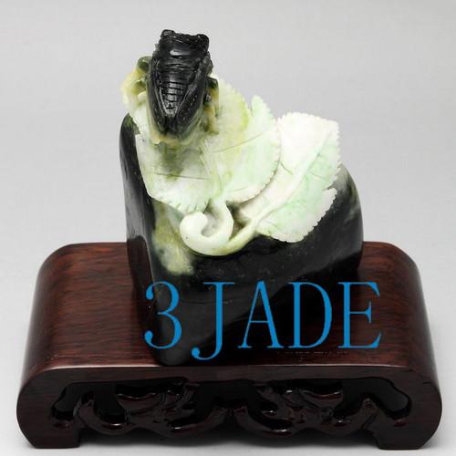 stone figurine Cicada